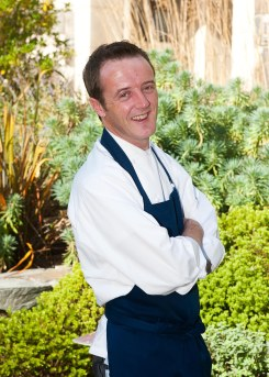 Executive Chef Wade Murphy, pictured outside the Lodge at Doonbeg